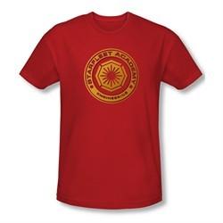 Star Trek Shirt Slim Fit Engineering Red T-Shirt