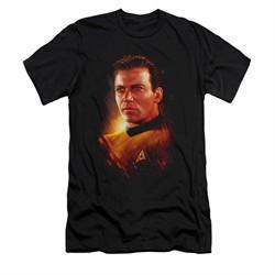 Star Trek Shirt Slim Fit Epic Kirk Black T-Shirt