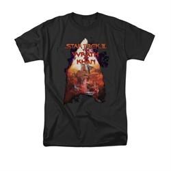 Star Trek Shirt Wrath Of Khan Black T-Shirt
