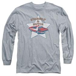 Starsky And Hutch Long Sleeve Shirt Torino Athletic Heather Tee T-Shirt
