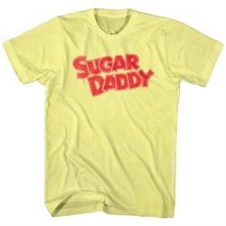 Sugar Daddy Shirt Retro Candy Logo Yellow T-Shirt
