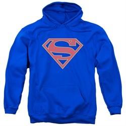 Supergirl Hoodie Logo Royal Blue Sweatshirt Hoody