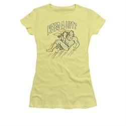 Superman Shirt Juniors Need A Lift Banana T-Shirt