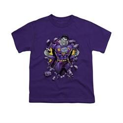 Superman Shirt Kids Bizzaro Breakthrough Purple T-Shirt