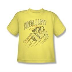 Superman Shirt Kids Need A Lift Banana T-Shirt