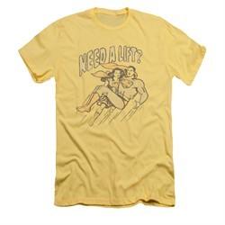 Superman Shirt Slim Fit Need A Lift Banana T-Shirt