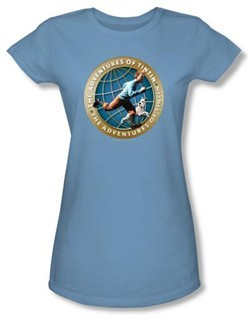 The Adventures Of Tintin Juniors T-Shirt