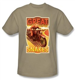 The Adventures Of Tintin Kids T-Shirt ? Great Snakes Sand Tee Shirt