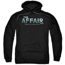The Affair Hoodie Logo Black Sweatshirt Hoody