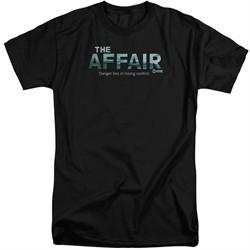 The Affair Shirt Logo Black Tall T-Shirt