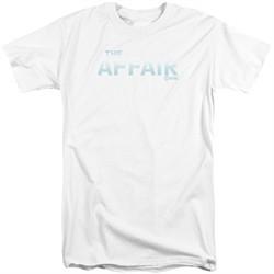 The Affair Shirt Logo White Tall T-Shirt