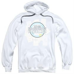 The Amazing Race Hoodie Road Sign White Sweatshirt Hoody