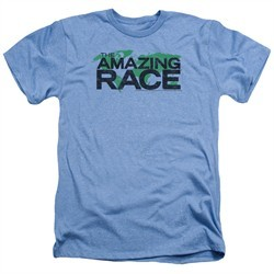 The Amazing Race Shirt World Heather Light Blue T-Shirt
