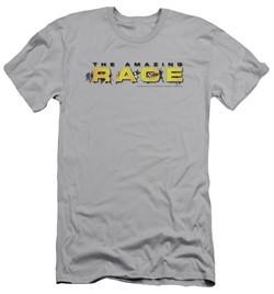 The Amazing Race Slim Fit Shirt Running Logo Silver T-Shirt