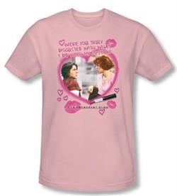 The Breakfast Club T-shirt Movie Lipstick Adult Light Pink Tee Shirt