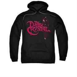 The Dark Crystal Hoodie Sweatshirt Bright Logo Black Adult Hoody Sweat Shirt