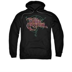 The Dark Crystal Hoodie Sweatshirt Symbol Logo Black Adult Hoody Sweat Shirt