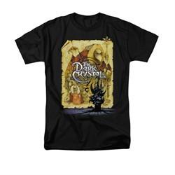The Dark Crystal Shirt Poster Adult Black Tee T-Shirt