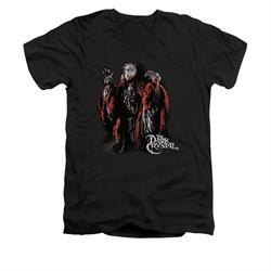 The Dark Crystal Shirt Skeksis Slim Fit V Neck Black Tee T-Shirt