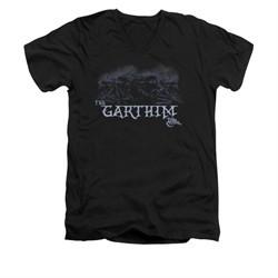 The Dark Crystal Shirt The Garthim Slim Fit V Neck Black Tee T-Shirt