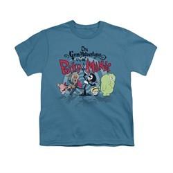 The Group Shot Of Billy & Mandy Shirt Kids Group Shot Slate Youth Tee T-Shirt