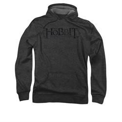 The Hobbit Desolation Of Smaug Hoodie Sweatshirt Ornate Logo Charcoal Adult Hoody Sweat Shirt