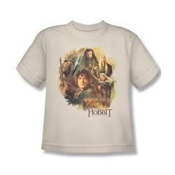 The Hobbit Desolation Of Smaug Shirt Kids Collage Cream Youth Tee T-Shirt
