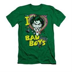 The Joker Shirt Slim Fit Bad Boys Kelly Green T-Shirt