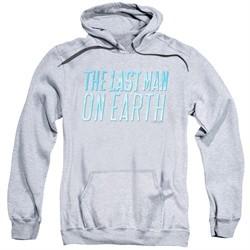 The Last Man On Earth Hoodie Logo Athletic Heather Sweatshirt Hoody
