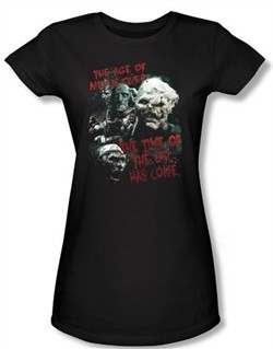 The Lord Of The Rings Juniors T-Shirt Time Of The Orc Black Tee Shirt
