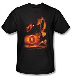 Lord Of The Rings Kids T-Shirt Destroy The Ring Youth Black Tee