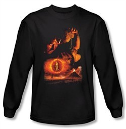Lord Of The Rings T-Shirt Destroy The Ring Black Long Sleeve Tee