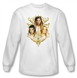 The Lord Of The Rings Long Sleeve T-Shirt Women Of Middle Earth Shirt