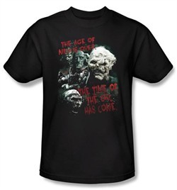 The Lord Of The Rings T-Shirt Time Of The Orc Adult Black Tee Shirt