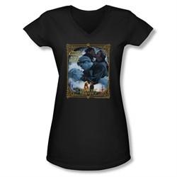 The Princess Bride Shirt Juniors V Neck True Love Black Tee T-Shirt