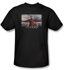 The Tudors Shirt The Final Seduction Adult Black T-Shirt Tee