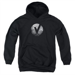 The Vamps Kids Hoodie V Emblem Black Youth Hoody