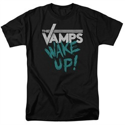 The Vamps Shirt Wake Up Black T-Shirt