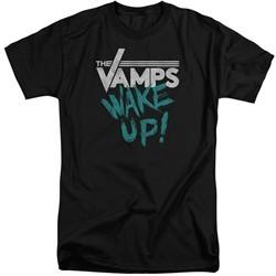 The Vamps Shirt Wake Up Black Tall T-Shirt
