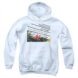 The Wizard Of Oz  Kids Hoodie Size 7 White Youth Hoody