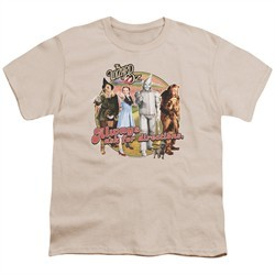 The Wizard Of Oz  Kids Shirt Always Ask For Directions Cream T-Shirt