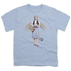 The Wizard Of Oz  Kids Shirt Over The Rainbow Light Blue T-Shirt