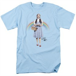 The Wizard Of Oz Shirt Over The Rainbow Light Blue T-Shirt