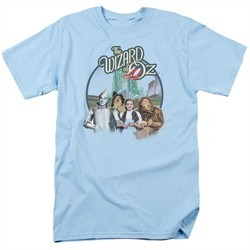 The Wizard Of Oz Shirt We're Off To See Wizard Light Blue T-Shirt