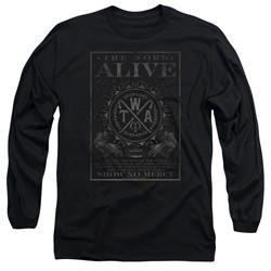 The Word Alive Long Sleeve Shirt Show No Mercy Black Tee T-Shirt