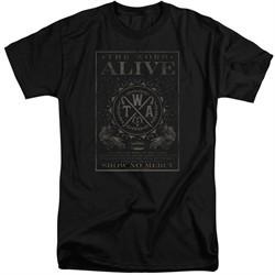 The Word Alive Shirt Show No Mercy Black Tall T-Shirt