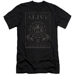 The Word Alive Slim Fit Shirt Show No Mercy Black T-Shirt