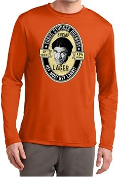 Three Stooges Tee Shemp Lager Dry Wicking Long Sleeve