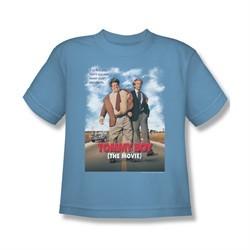Tommy Boy Shirt Kids Movie Poster Carolina Blue Youth Tee T-Shirt
