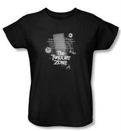 Twilight Zone Ladies T-Shirt